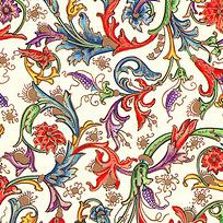 Floral Pattern Paper