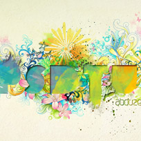 Watercolor Typography in Photoshop