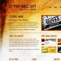 Create a Grunge Web Design