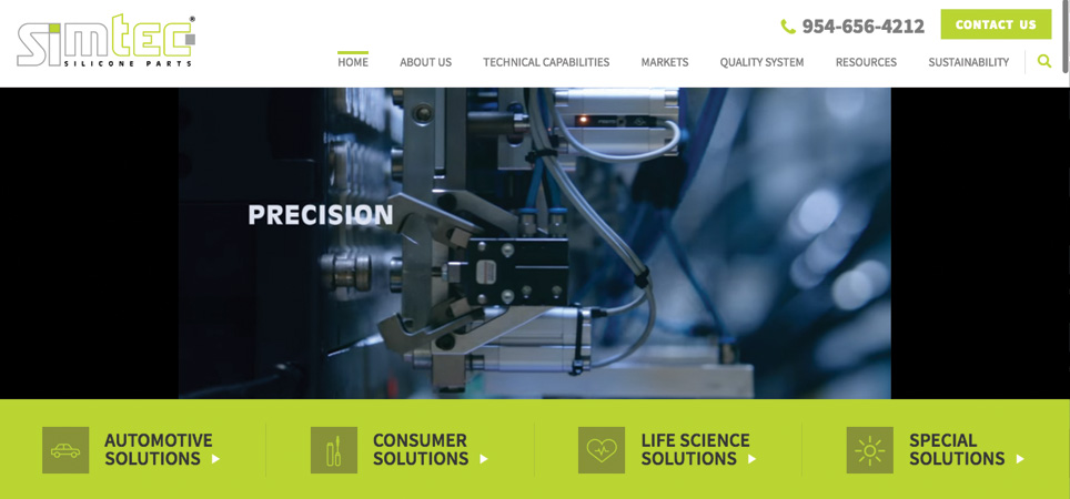 Simtec page - precision